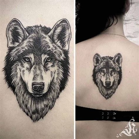 tattoo back wolf wolf tattoo back best tattoo ideas gallery