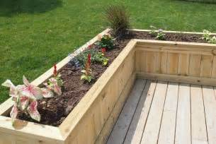 25 best ideas about deck planters on garden