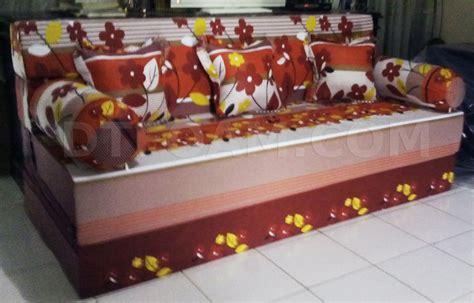 Kasur Inoac Palsu sofa bed kasur inoac autumn merah maroon dtfoam