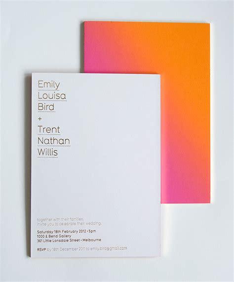 wedding invitation description fpo emily trent wedding invite