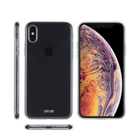 iphone xs max clear olixar ultra thin gel 100 clear
