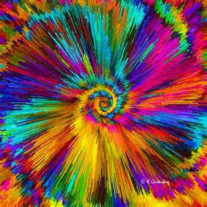 colorful pictures colorful vortex ralph gartenberg artist