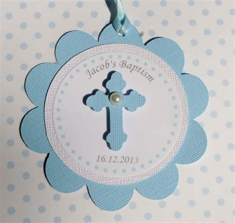 Giveaways Tag Baptism - baptism favor tags blue set of 12 by studiodris on etsy 10 00 first communion