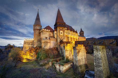 scary places  transylvania  arent draculas castle