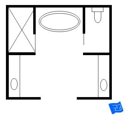 ideas freestanding tub bathroom floor plan freestanding bath  small bathroom  tub