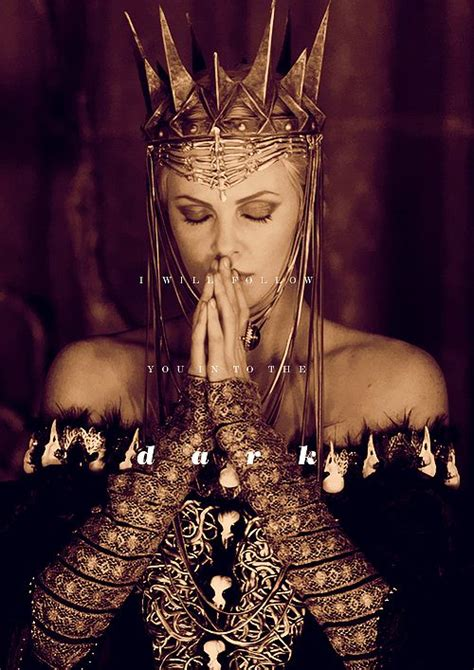film evil queen charlize theron as evil queen ravenna in snow white and