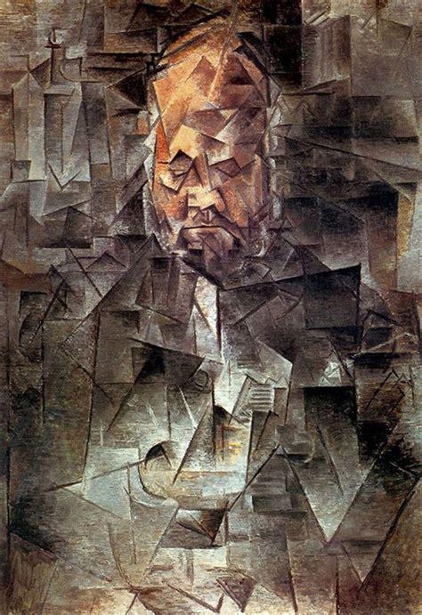picasso paintings cubist pablo picasso quot portrait of ambroise vollard quot 1910 style