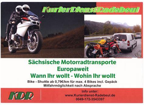 Motorrad Transport Deutschland Spanien by Motorradtransport