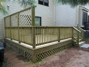 deck privacy lattice diy lattice privacy screen for deck plans