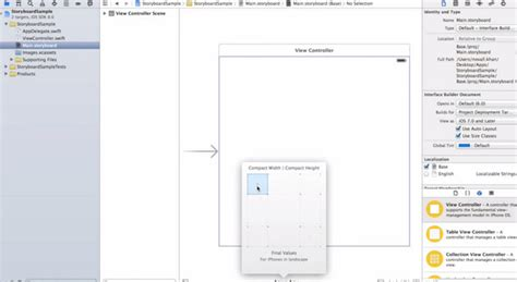 storyboard tutorial for xcode 6 iphone apple xcode tutorial