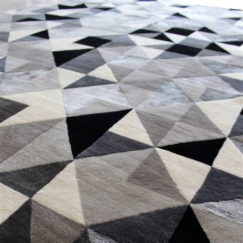 geometrical rugs geometric grey the rug establishment