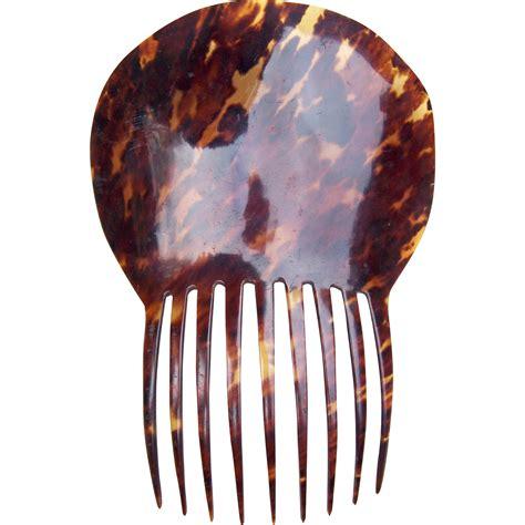 mantilla and combs spanish mantilla style hair comb victorian tortoiseshell