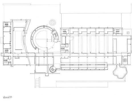 richard meier floor plans second floor plan of bmca by richard meier macba