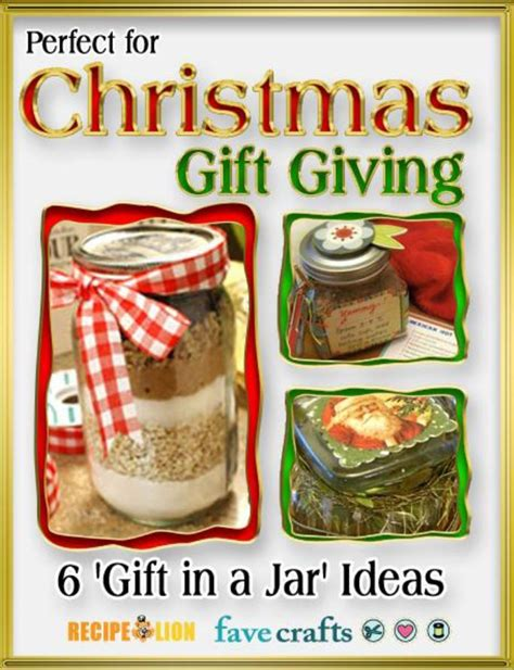 perfect for christmas gift giving 6 gifts in a jar