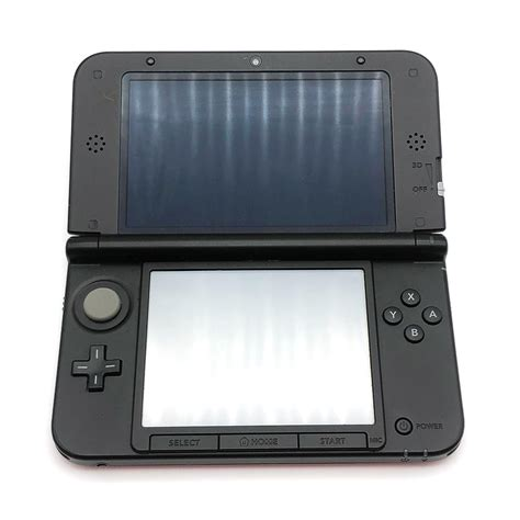nintendo 3ds console sale nintendo 3ds xl black console pre owned the gamesmen