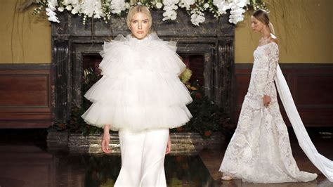 bridal fashion week our favourite fall 2017 looks from ny bridal fashion week
