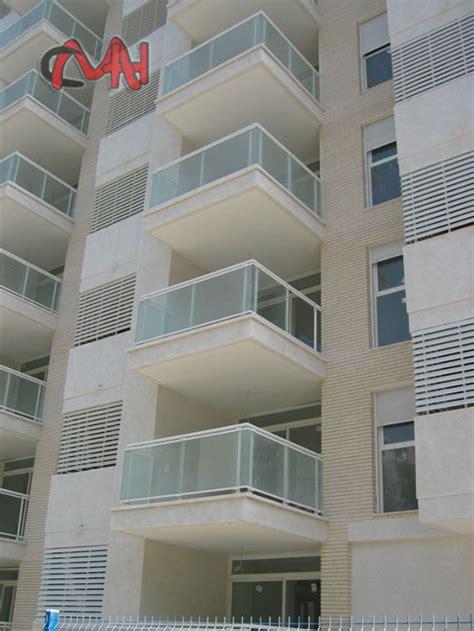 barandillas de balcones barandillas aluminio y balcones aluminio cristal cmh