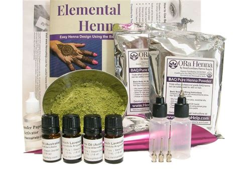 henna tattoo starter kits ultimate henna starter kit ora powder henna essential
