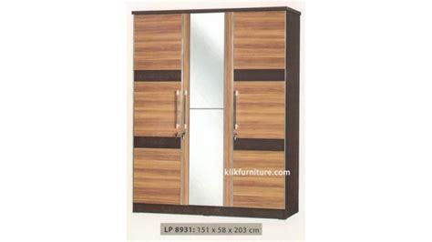 Lemari Pakaian Minimalis 2pintu Sucitra Lp 1522 lp 8931 lemari 3 pintu minimalis sucitra harga termurah