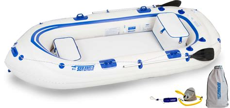 aqua marina classic advanced fishing boat with electric motor t18 std sea eagle se9 4 person inflatable boats package prices
