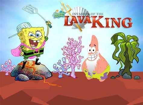 spongebob squarepants lava l spongebob squarepants invasion of the lava king 3