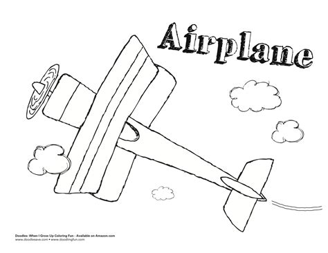 free coloring pages of wright brothers plane