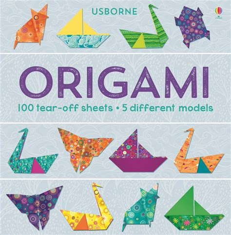Origami Books - origami 100 tear sheets at usborne books at home