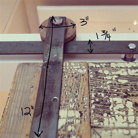 Diy Sliding Barn Door Track 17 Best Ideas About Track Door On Sliding Door Track Barn Door Track And Small