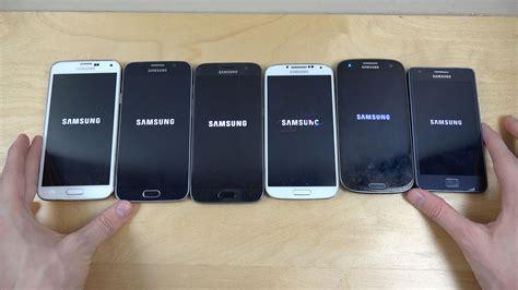 Samsung S6 S7 samsung galaxy s7 vs s6 vs s5 vs s4 vs s3 vs s2
