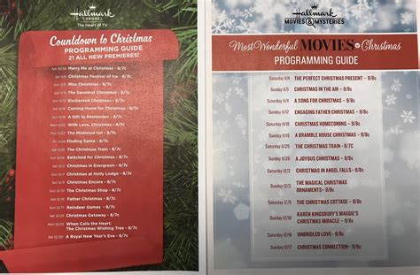 hallmark christmas movies schedule this is when 35 new movies will air pennlive com