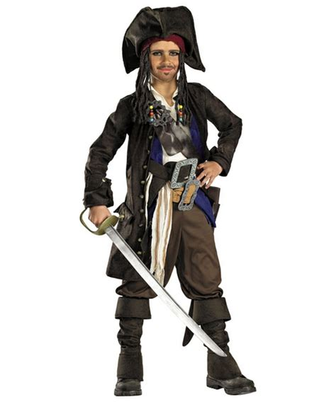 Pirate L by Of Caribbean Captain Sparrow Boys