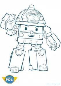 56 dessins de coloriage robocar poli 224 imprimer