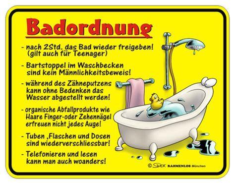 Badezimmer Deko Gelb by Blechschild Badordnung Spruchschild Badezimmer Deko Gelb Rot