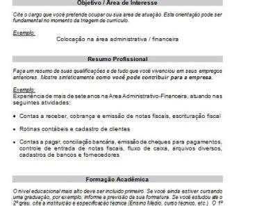 Modelo Curriculum España 2018 Modelos De Curr 237 Culos Prontos