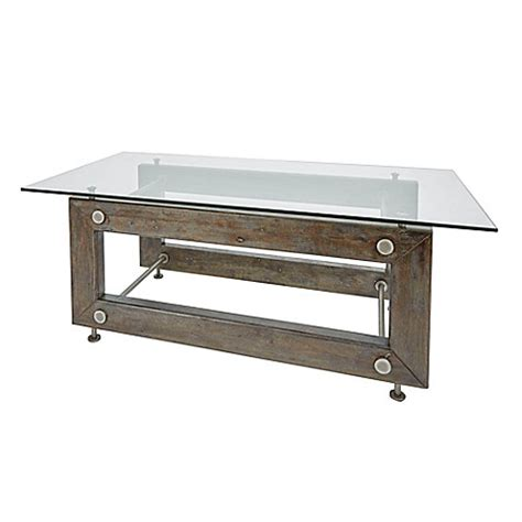 Silverwood Coffee Table Silverwood Industrial Collection Coffee Table In Metal Bed Bath Beyond