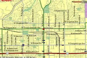 where is fullerton california in a map 120 santa fe avenue