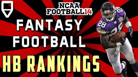 Football Sleeper Rankings by 2013 Football Running Back Rankings And Sleepers