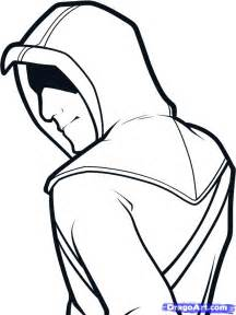 how to draw altair easy assassins creed step by step
