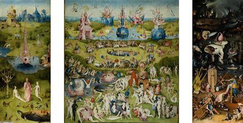 il giardino delle delizie di bosch il giardino delle delizie olio su tavola di hieronymus