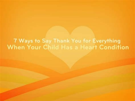 7 Ways To Say I You by 7 Ways To Say Thank You For Help When Your Child Has A