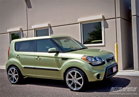 Kia Soul Aftermarket Wheels Kia Soul Custom Wheels Giovanna Andros 20x Et Tire Size