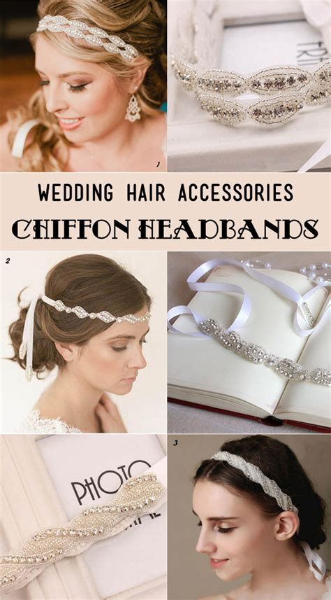 hair chiffon 25 most gorgeous bridal hair accessories for every