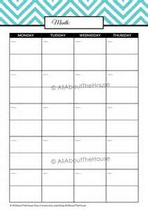 free printable weekly subject planner student planner editable allaboutthehouse printables