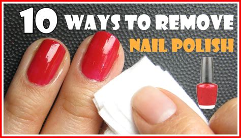 how do you get nail polish off a couch 10 ways to remove nail polish with and without removers