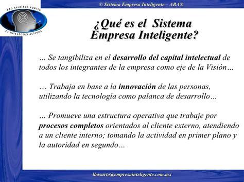 la empresa emocionalmente inteligente upload share and sistema empresa inteligente aba