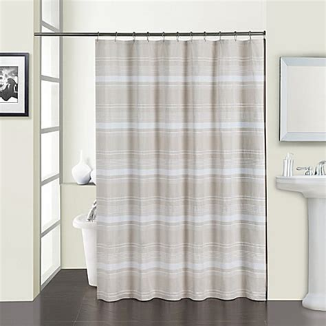 beige shower curtains buy melange shower curtain in beige from bed bath beyond