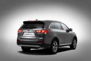 2016 Kia Sorento Pictures 2016 Kia Sorento Exterior Revealed Preview The Fast