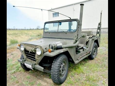mutt truck 1968 m151a1 ford multipurpose utility tactical truck mutt