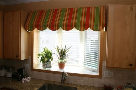 awning valance awning valance mounted even with cabinet line curtains