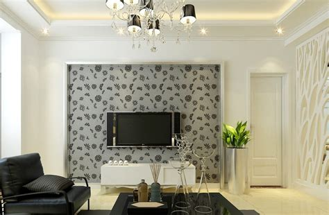Wallpaper Designs For Living Room by Wallpaper Designs For Living Room Modern House
